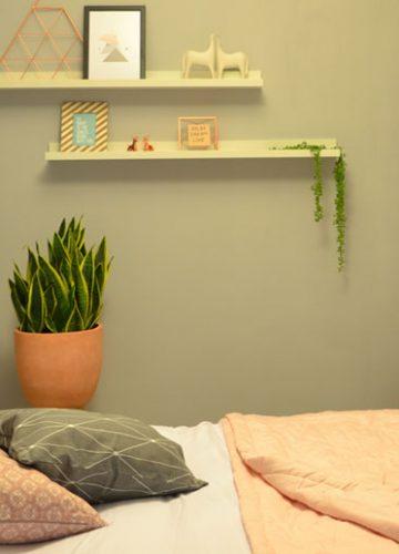 הום סטיילינג בסגנון מודרני לחדר שינה